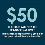 Costs $50 a day
